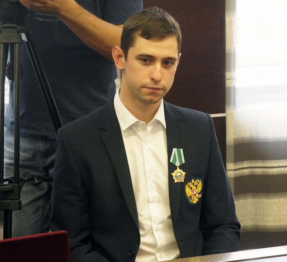 Паралимпийский чемпион по фехтованию Максим Шабуров