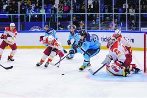 хоккейный матч Сибирь - Куньлунь