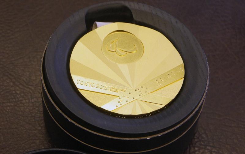 Золотая медаль Паралимпиады в Токио