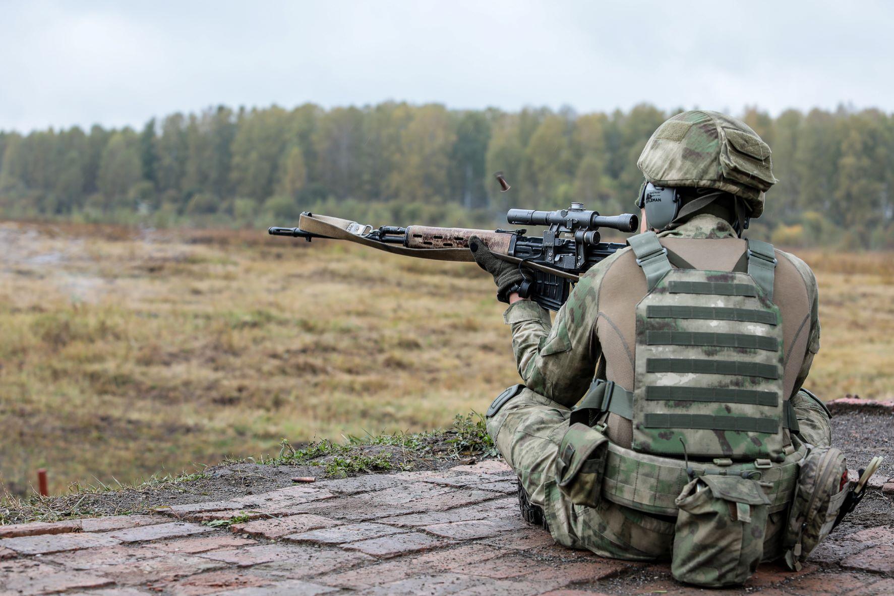 В Новосибирской области прошли соревнования по стрельбе из снайперских винтовок (фото)