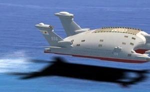 ЭНБС А-2500 в экранном полёте