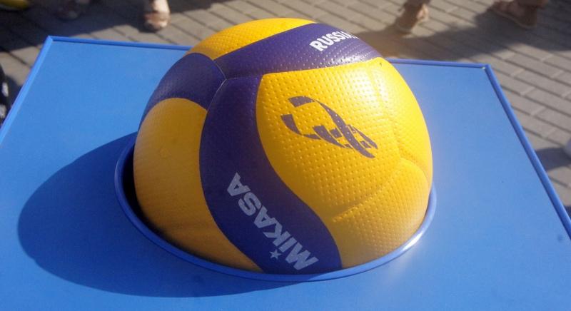 Официальный мяч чемпионата мира по волейболу-2022 в России