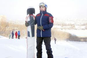 новосибирский сноубордист Даниил Дильман