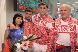 двукратный олимпийский чемпион Роман Власов